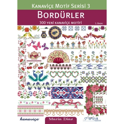 CROSS STITCH MOTIF SERIES 3: BORDERS BOOK