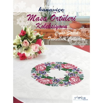 CROSS STITCH TABLECLOTHS COLLECTIONS BOOK
