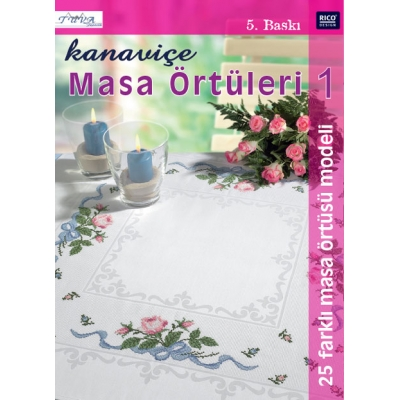 CROSS STITCH TABLE CLOTHS 1 BOOK