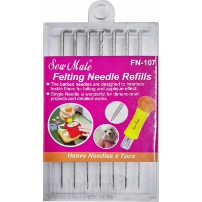 Sew Mate Felting Needle Refills FN-107