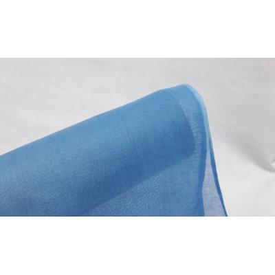 Tülbent Kumaş - % 100 Pamuk- Bebe Mavisi