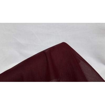 Claret Red Cheesecloth Fabric- 100% Cotton