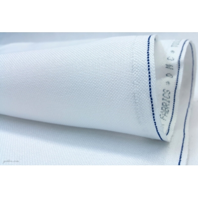 DMC 28 CT EVENWEAVE FABRIC WHITE 544A