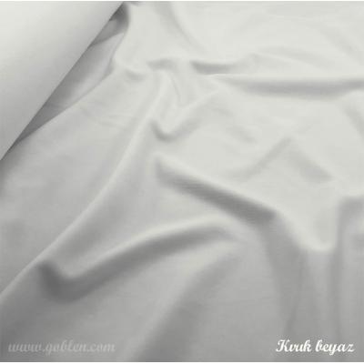 Tilda Bebek Kumaşı Kırık Beyaz, 150cm En
