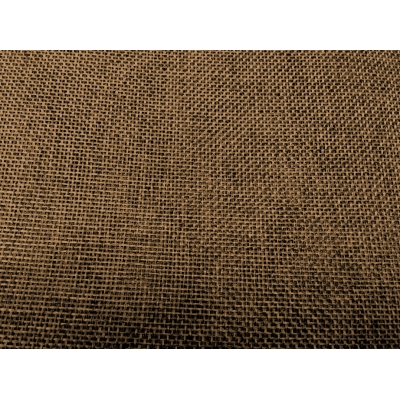 Linen Jute Fabric-Deep Brown
