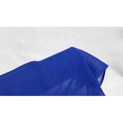 Sax Blue Cheesecloth Fabric- 100% Cotton
