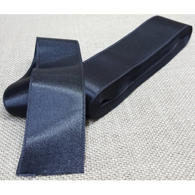 Satin Ribbon No:12, 4cm Black