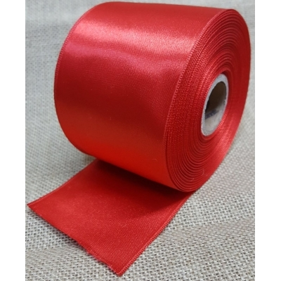 Satin Ribbon 6,5cm Red