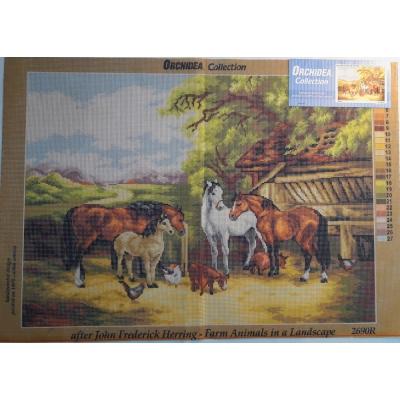 50x70 cm ORCHIDEA PRINTED 2690R