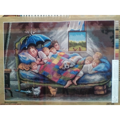50x70 cm ORCHIDEA PRINTED 2871