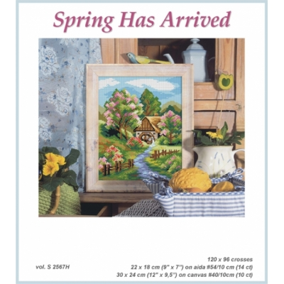 Counted Cross Stitch Chart Book 2567h