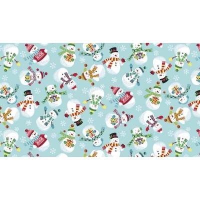 MAKOWER-UK Patchwork Fabric 1584-B2