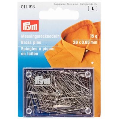 Prym Brass Pins 011193