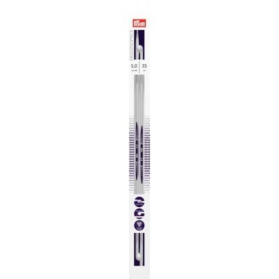 Prym Ergonomic Single Pointed Knitting Needle 5.0 mm - 35 cm