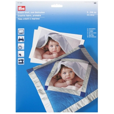 PRYM FABRIC FOR PRINTING 611930 (5 PIECES)