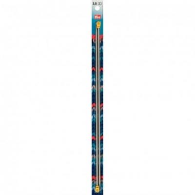Prym Aluminium Single Pointed Knitting Needle 3.5 mm, 35 cm 191464