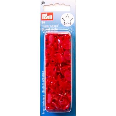 Prym Pres Baskılı Plastik Çıtçıt