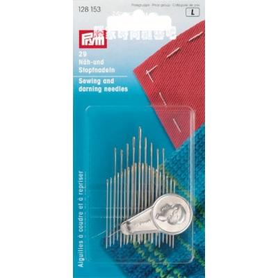Prym Sewing and Darning needles & threader 128153