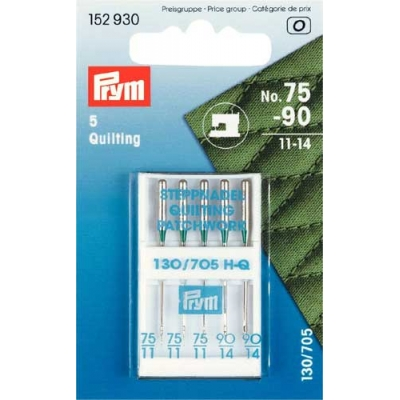 PRYM Needle Machine Sewing for Quilting 152930