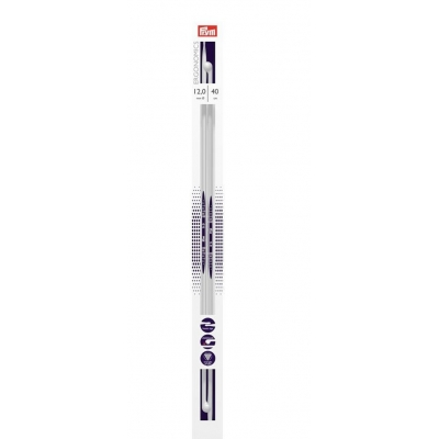 Prym Ergonomic Single Pointed Knitting Needle 12.0 mm - 40 cm