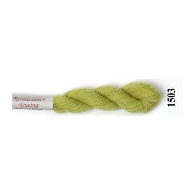 RENAISSANCE DYEING (crewel wool) 1503