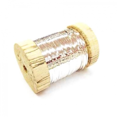 SILVER METALIC EMBROIDERY THREAD 250 gr