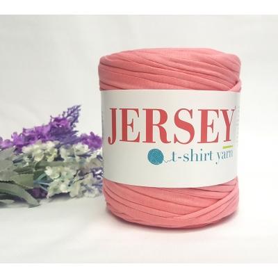 Jersey T-Shirt Yarn Cotton Yarn Salmon Color