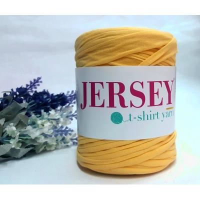 Jersey T-Shirt Yarn Cotton Sun Yellow