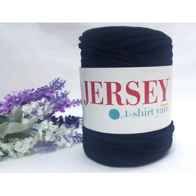 Jersey T-Shirt Thread Dark Navyblue