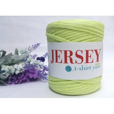 Jersey T-Shirt Thread Soft Yellow