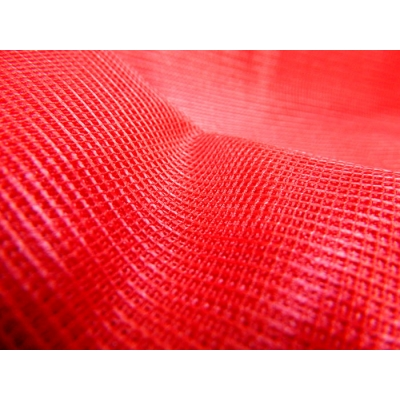 Square Tulle Red