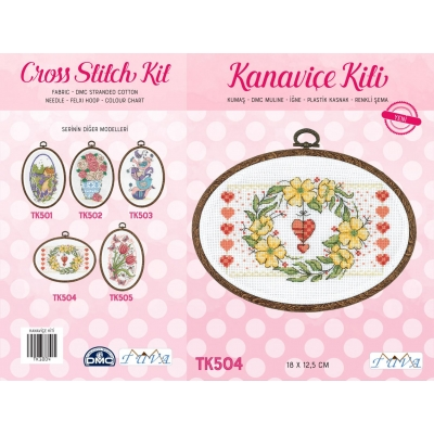 TUVA CROSS STITCH KIT TK504