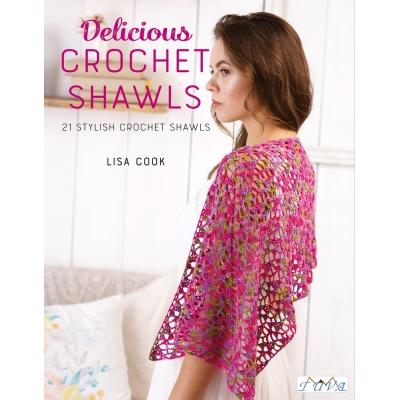 Delicious Crochet Shawls Örgü Kitabı