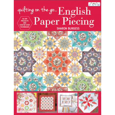 Quilting on the Go: English Paper Piecing Book