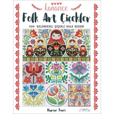 Cross Stitch Folk Art Flowers