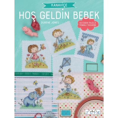 Cross Stitch: Welcome Baby Book !!NEW!!