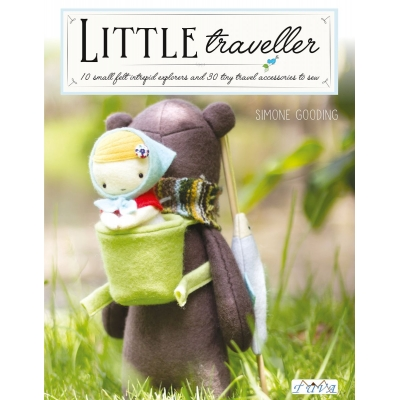 LITTLE TRAVELLER FELT SEWING BOOK