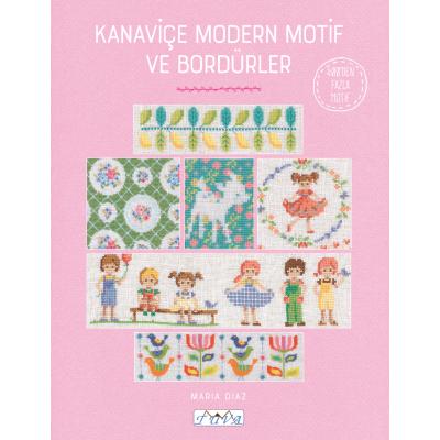 Modern Motifs & Borders in Cross Stitch Book