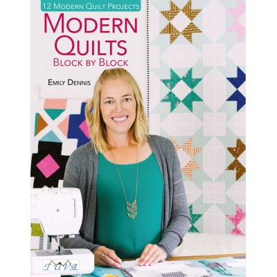 Modern Quilts Block by Block Patchwork Kitabı