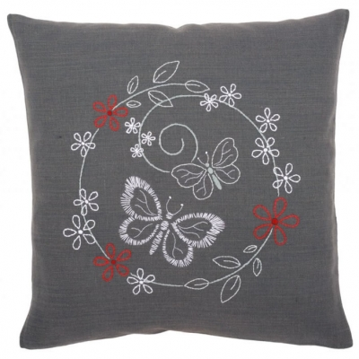 VERVACO READY-MADE EMBROIDERY CUSHION KIT PN-0156071