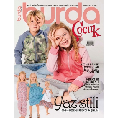 BURDA SEWING MAGAZINE KID 2020/01