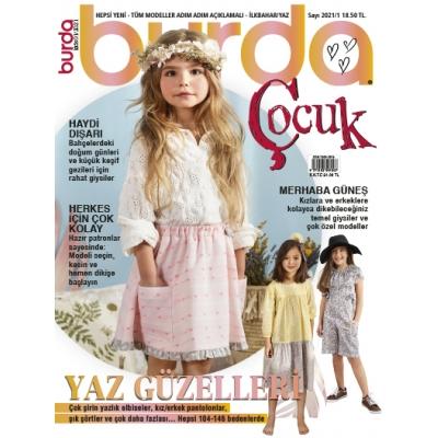 BURDA SEWING MAGAZINE KID 2021/01