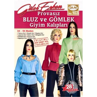 GÜLER ERKAN'S SEWING MAGAZINE 103 - NEW!