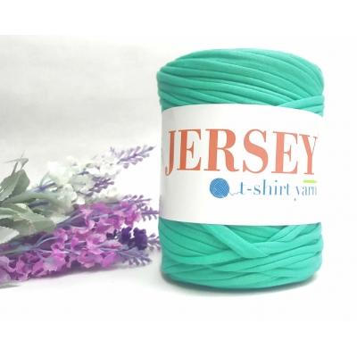 Jersey T-Shirt Yarn Cotton Yarn Patterned Navy Blue