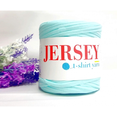 Jersey T-Shirt Thread Turquoise