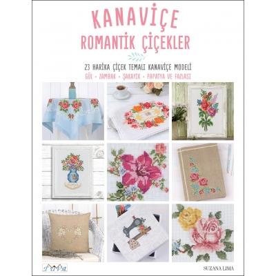 Cross stitch Romantik Çiçekler Book