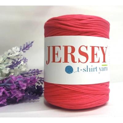 Jersey T-Shirt Yarn Penye İplik Nar Çiçeği