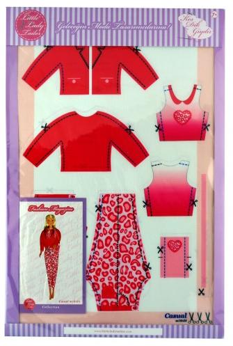 Amigurumi bebek için kumaş elbise – 10marifet.org | 497x335