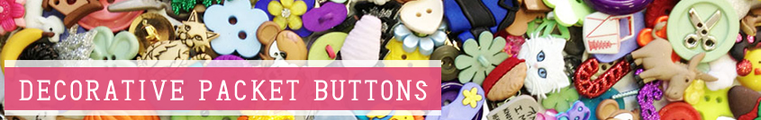 decorative packet buttons, buttons, sewing materials, dress it up