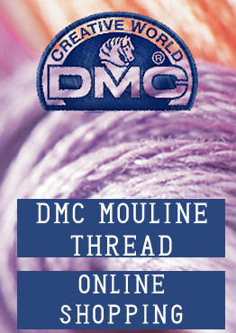 dmc mouline, embroidery materials, cross stitch models, etamine fabrics